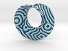 Minimal Mobius banded agate (2¾ in) 3d printed