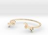 Bracelet Chevaux 15mm rond 3d printed