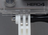 GoPro simple straight connector XL 3d printed