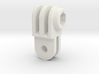 GoPro simple connector rotated S 3d printed