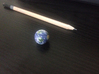 """Tiny Earth (1"""") 3d printed"""