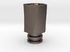 HEX TORQUE Driptip: Stainless Steel 3d printed
