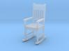 Miniature 1:48 Rocking Chair 3d printed