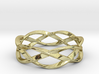 Weave Ring (Large) 3d printed