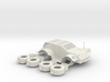 28mm 4x4 Domain Courier Car 3d printed