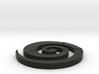 Swirl Ear Ring 3d printed
