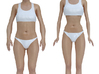 Barbie Doll (real-scaled) 3d printed
