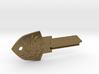 Zelda Shield House Key Blank - KW1/66 3d printed