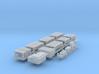 O Kawasaki LRV Single-End Roof Parts Detail-Up Set 3d printed