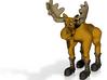 Bronze Moose 3d printed