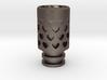 Vanishing Hearts Driptip: Stainless Steel 3d printed