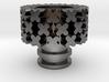 XXX Driptip Heat sink: Stainless Steel 3d printed