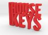 House Keys Key Chain 3d printed