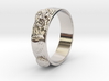 Sea Shell Ring 1 - US-Size 12 (21.49 mm) 3d printed