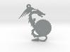 Small Customizable Dragon Keychain/Pendant 3d printed