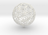 Pendant 35mm Flower Of Life 3d printed