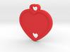 Heart Key Chain (Customizable) 3d printed