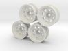 "Rim Wagon Wheel 1/8"" offset - Losi McRC/Trekker 3d printed"