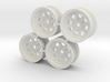 Rim Wagon Wheel Stock offset - Losi McRC/Trekker 3d printed
