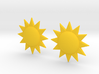 Sun Studs 3d printed