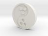 Ying Yang Coin 3d printed