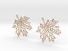 Maple Leaf Earrings-open 3d printed