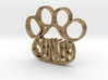 Spencer Paw Tag 3d printed