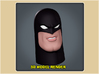 1:6 Scale Space Ghost Head 3d printed