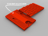 Business card case - CUSTOMIZE! 3d printed Customize as you want!