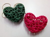 Heart By Heart 30mm wide Pendant 3d printed
