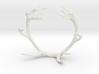 Red Deer Antler Bracelet 70mm 3d printed