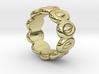 Elliptic Ring 16 - Italian Size 16 3d printed