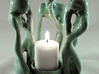 Circle Of Wisdom Candle Holder 3d printed