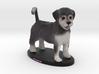 Custom Dog Figurine - Frankie 3d printed