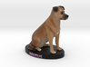 Custom Dog Figurine - Brutus 3d printed