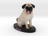 Custom Dog Figurine - Duke 3d printed
