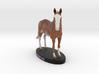 Custom Horse Figurine - Annikan 3d printed