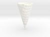 Waffle Ice Cream Cone 3d printed