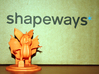 Jack O'Bat 3d printed Printed in Orange Strong and Flexible
