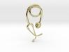 Stethoscope pendant 3d printed