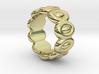 Elliptic Ring 27 - Italian Size 27 3d printed