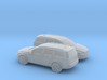 1/148 2X 2015 Volvo XC 70 3d printed