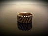 Gear Cog Fashion Ring Size 9 3d printed