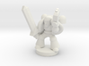 Spacemarine Captain 3d printed