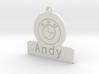 Car Keyring Andy 3d printed