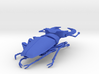 Articulated Stag Beetle (Lucanus cervus) 3d printed