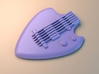 Guitar pick 1.5 3d printed