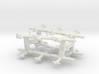 Macchi C.205 Veltro (Triplet) 1:900 x4 3d printed