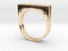 Plate Ring Men Stl 3d printed