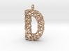 Organic D Pendant 3d printed